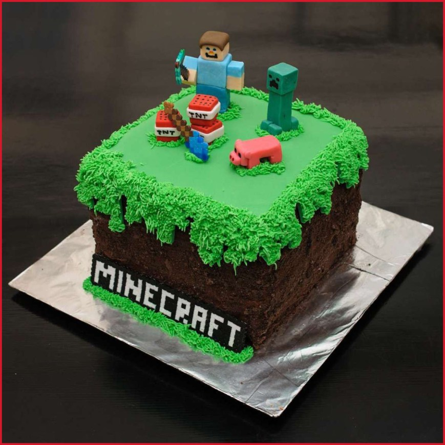 Minecraft Birthday Cake Ideas Minecraft Birthday Cakes 22750 Y11 5989 Edit Food And Drinks
