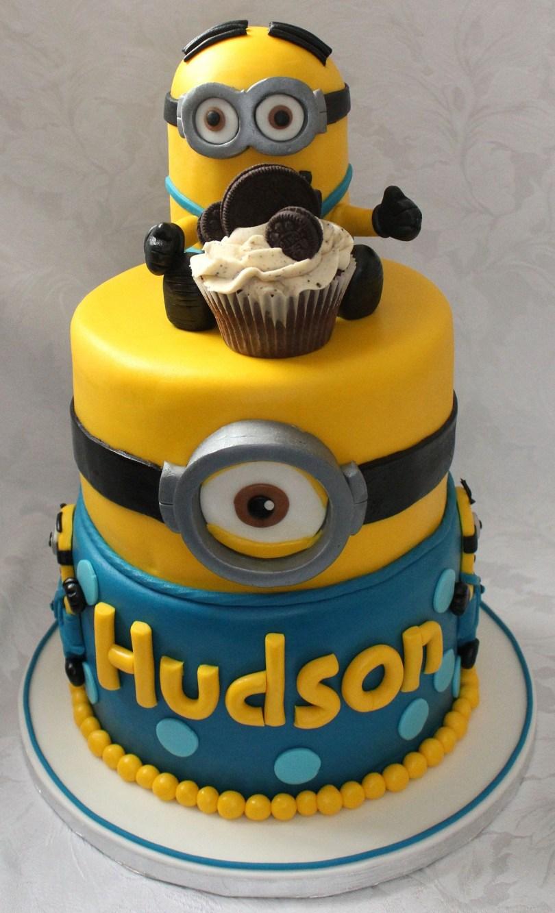 Minions Birthday Cakes Minion Birthday Cake Ba Pinterest Minion Birthday