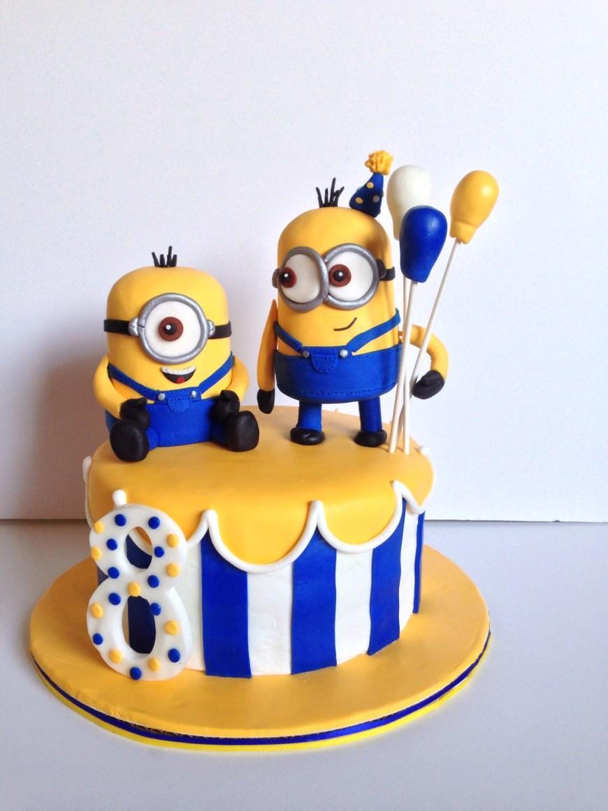 Minions Birthday Cakes Minion Birthday Cake Minions Cakes Mimosk Torty Geburtstag