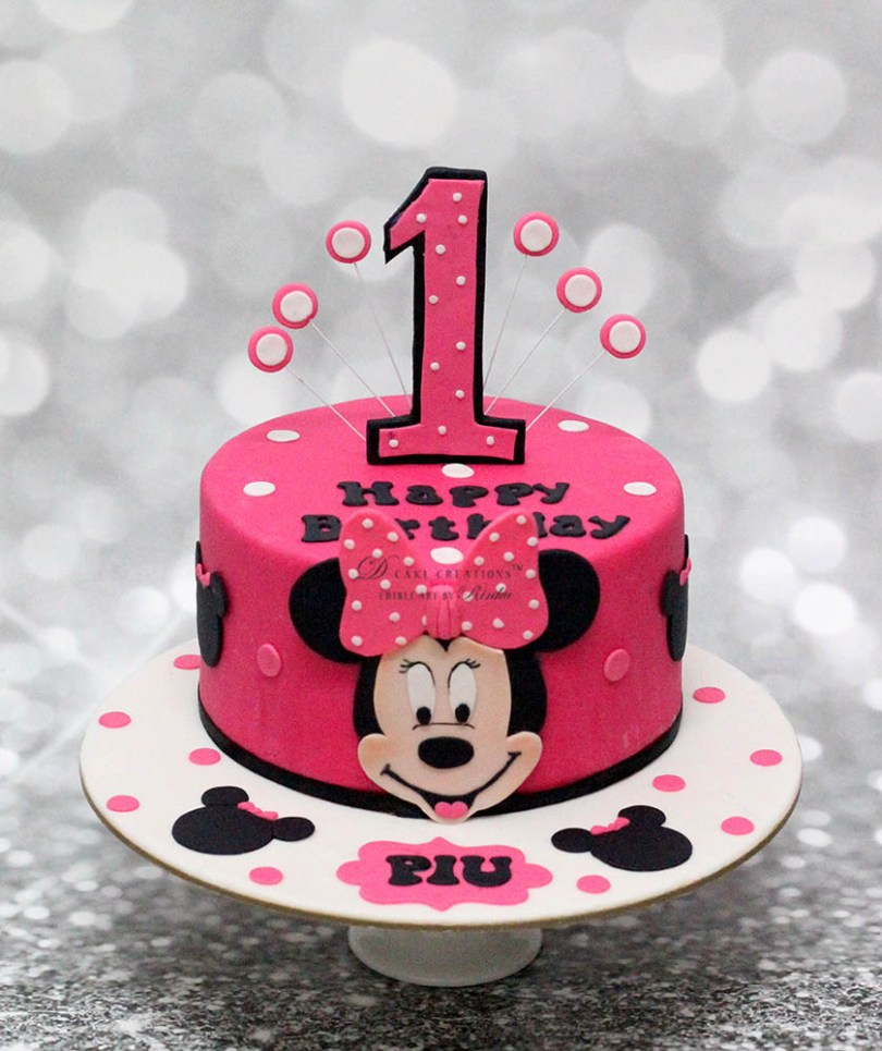 Minnie Mouse Birthday Cake Ideas Customised Cakes For Girls The Best In Mumbai And Pune