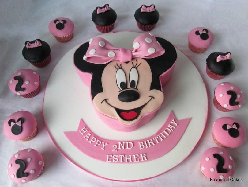 Minnie Mouse Birthday Cake Minnie Mouse Cakes Decoration Ideas Little Birthday Cakes