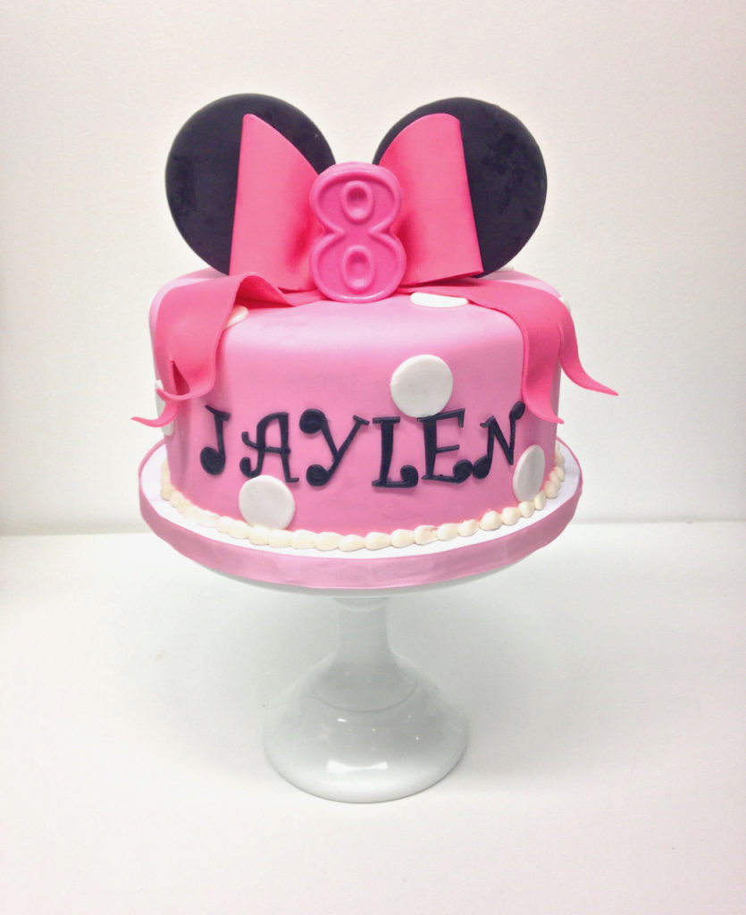 Minnie Mouse Birthday Cake Nashville Sweets Minnie Mouse Birthday Cake