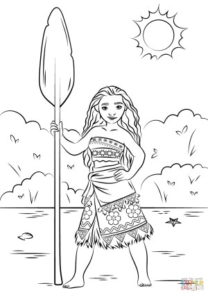 Moana Coloring Pages Pdf Disney Moana Coloring Pages Colouring Photos Of Beatiful Princess