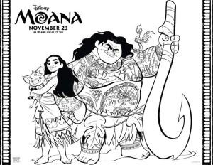 Moana Coloring Pages Pdf Moana Coloring Pages Free Disney Coloring Pages Disney Activity Page