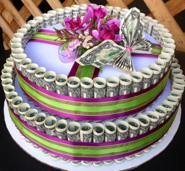 Money Birthday Cake 12 Made Out Of 100 Bill Money Cakes Photo Dollar Bill Birthday