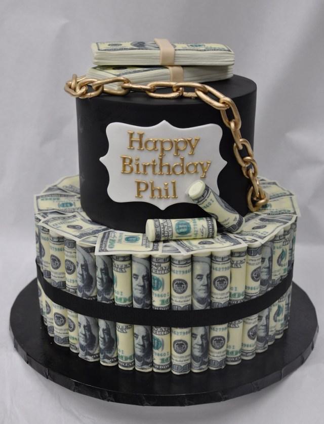 Money Birthday Cake Money Roll Birthday Cake Jenny Wenny Flickr