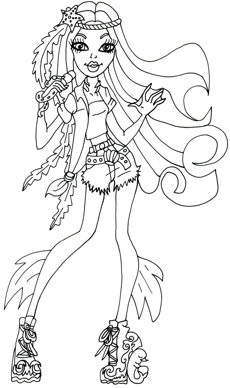Monster High Coloring Pages Printable Monster High Coloring Pages Print Cosmo Scope
