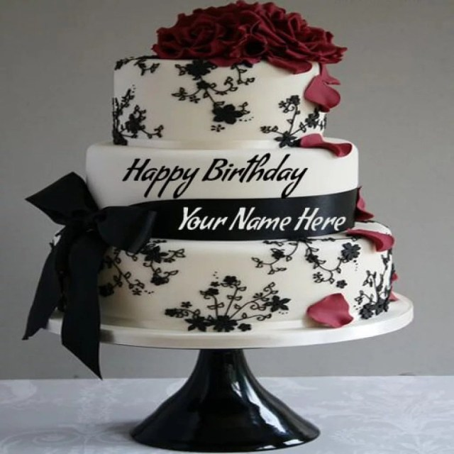 Name On Birthday Cake Beautiful Birthday Cakes For Ladies With Names Legitng