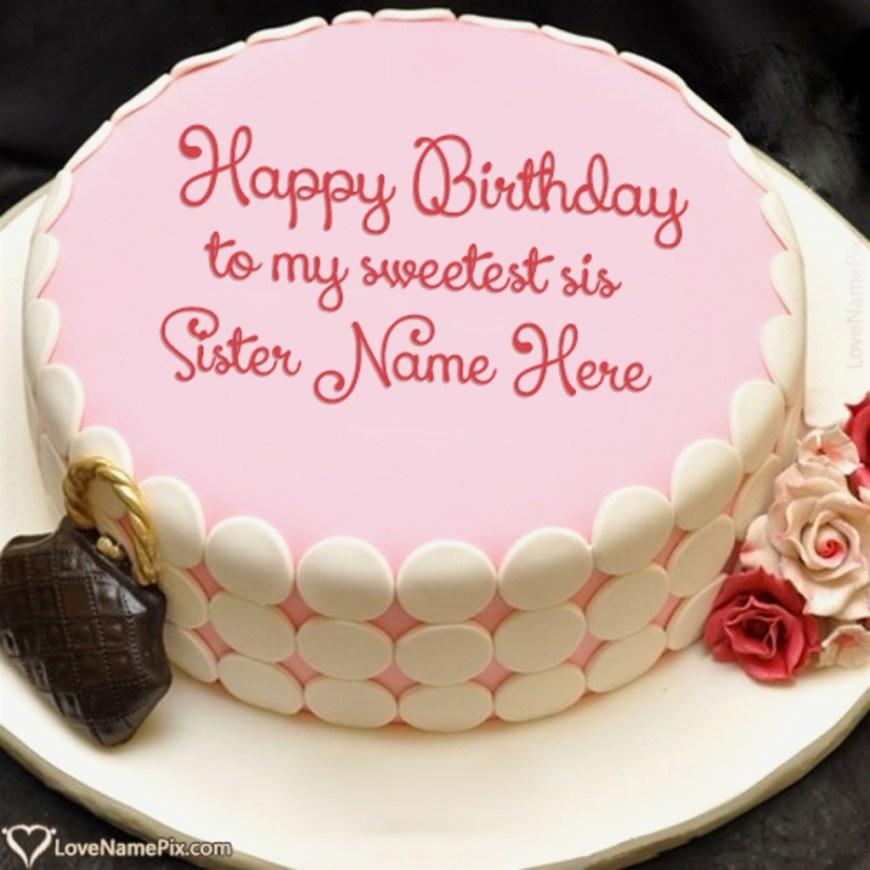 Name On Birthday Cake Great Birthday Cake Name Generator For Sister Online Birthday Cake