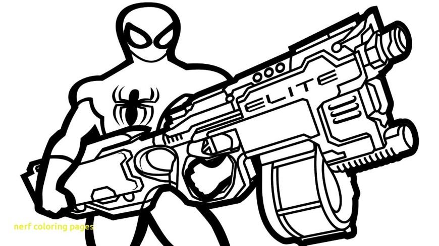Nerf Gun Coloring Pages Nerf Gun Coloring Pages Latestgktoday Latestgktoday