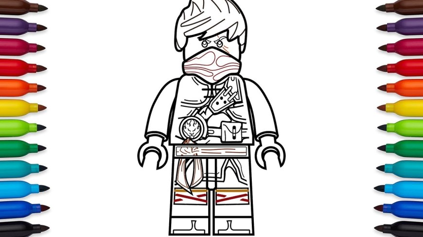 Ninjago Coloring Pages How To Draw Lego Ninjago Kai Hands Of Time Coloring Pages