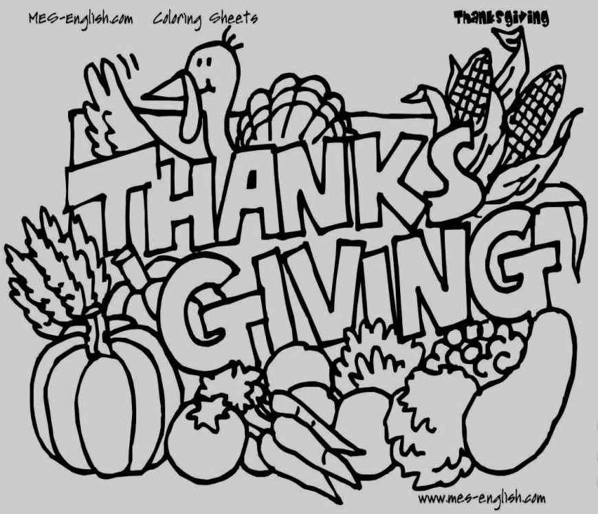 November Coloring Pages November Coloring Page Keep Kids Busy With Free Thanksgiving