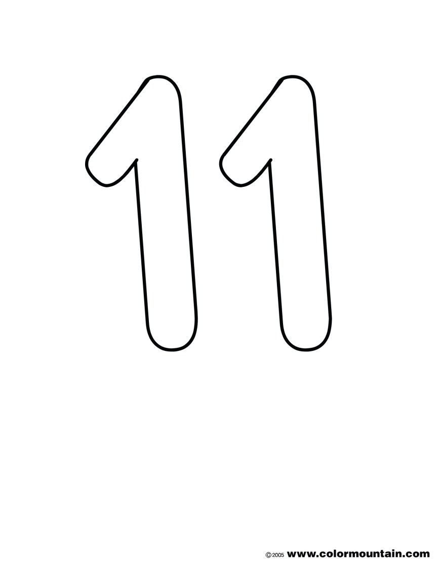 Number 1 Coloring Page Number Ten Coloring Pages Preschool Free Book Picture And 10 Page