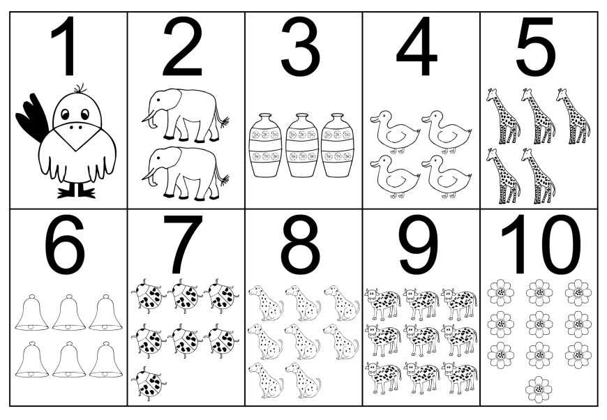 Number Coloring Pages Coloring Page Coloring Number Pages Book Numbers Page Splendi Free