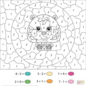 Number Coloring Pages Coloring Page Phenomenal Color Number Coloring Pages Free