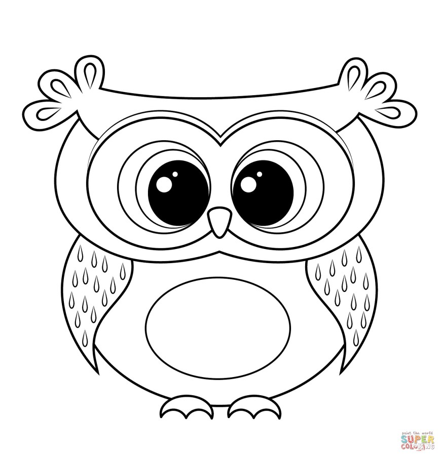 Owls Coloring Pages Free Printable Coloring Pages For Adults Owls Ideas Printable Owl