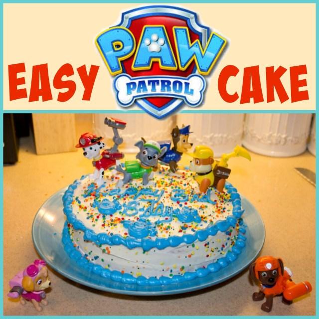 Paw Patrol Birthday Cake Ideas Easy Paw Patrol Cake Birthday Paw Patrol Cake Paw Patrol