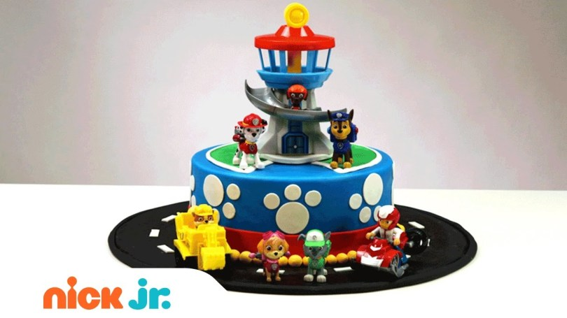 Paw Patrol Birthday Cake Ideas How To Create Decorate Your Own Paw Patrol Cake Nickelodeon