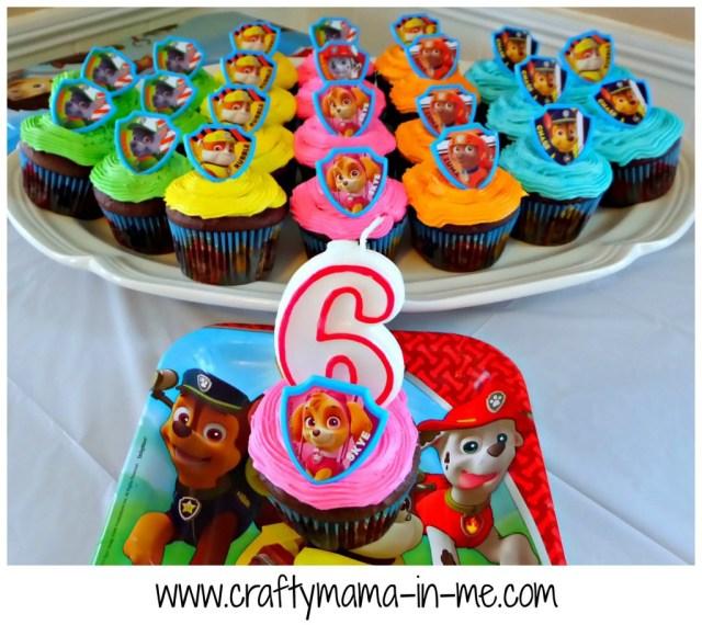 Paw Patrol Birthday Cake Ideas How To Plan A Girl Paw Patrol Themed Birthday Party Crafty Mama In Me