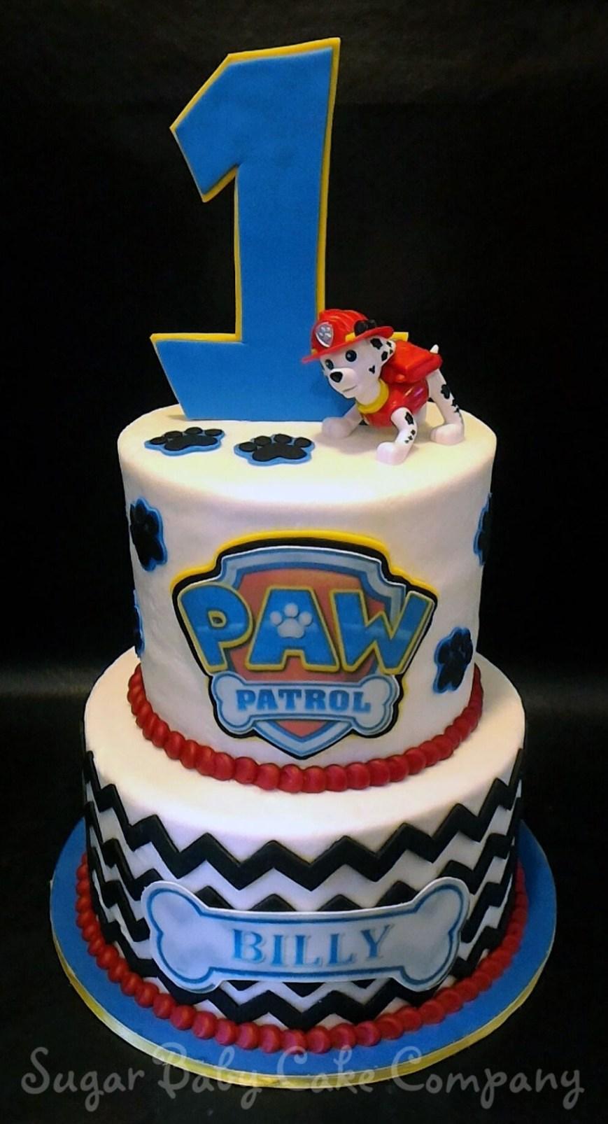 Paw Patrol Birthday Cake Ideas Paw Patrol 1st Birthday Cake Cakecentral Within Birthday Cake Ideas