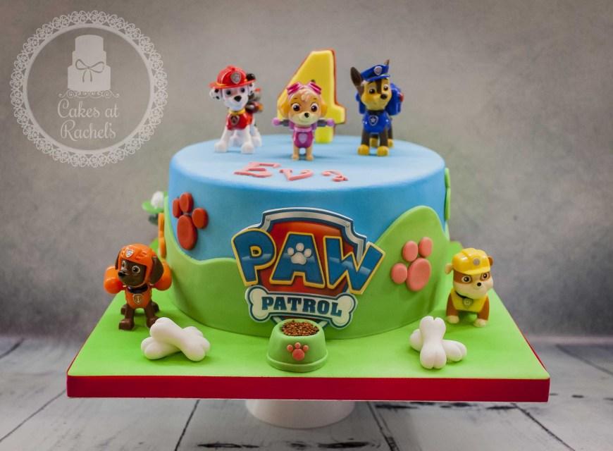 Paw Patrol Birthday Cake Ideas Paw Patrol Cake Wwwfacebookcakesatrachels Cake In 2019