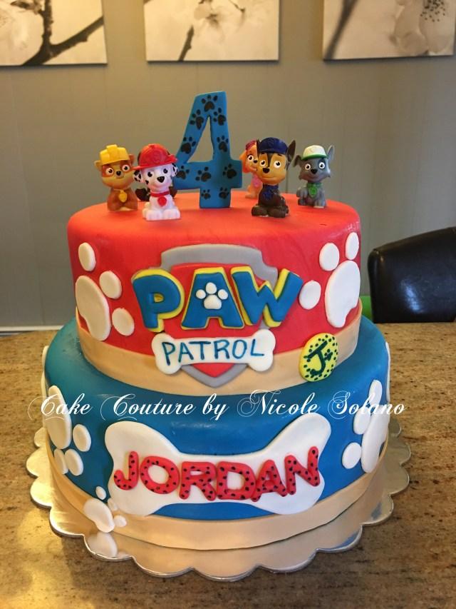 Paw Patrol Birthday Cake Ideas Paw Patrol Cakes Cakes Paw Patrol Birthday Paw Patrol Paw