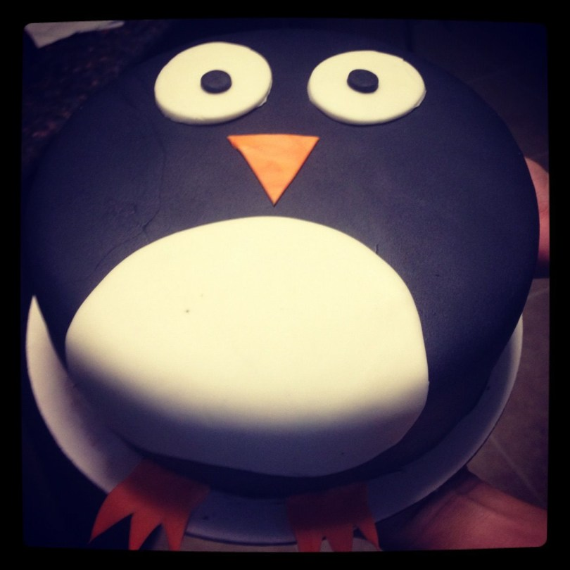 Penguin Birthday Cake My Penguin Birthday Cake Super Easy To Make Eva Wants Pink