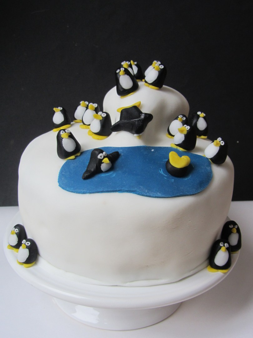 Penguin Birthday Cake Penguin Birthday Cakes