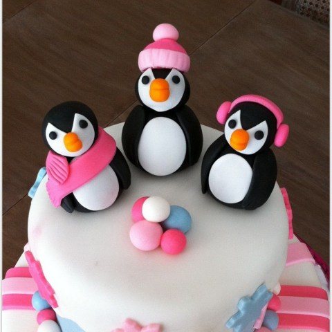 Penguin Birthday Cake White Penguin Birthday Cakes Designs Image Ideas In Birthday Cake
