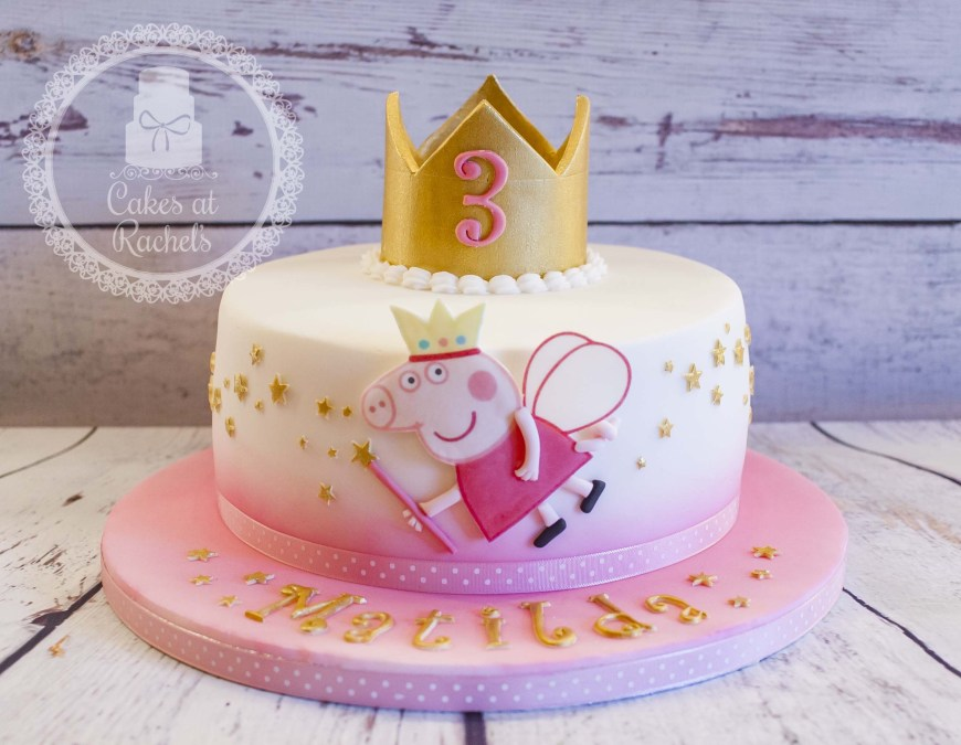 Peppa Pig Birthday Cakes Pin Denise Moussawi On Peppa Pig Birthday Pinterest Peppa Pig