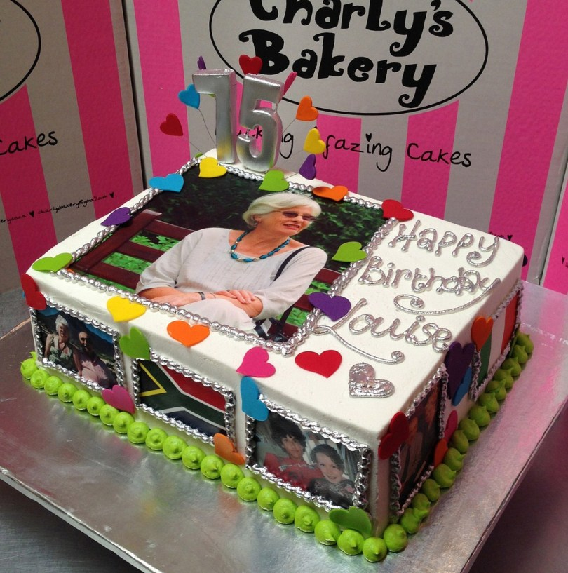 Personalized Birthday Cakes Personalized Birthday Cake Charlys Bakery Flickr
