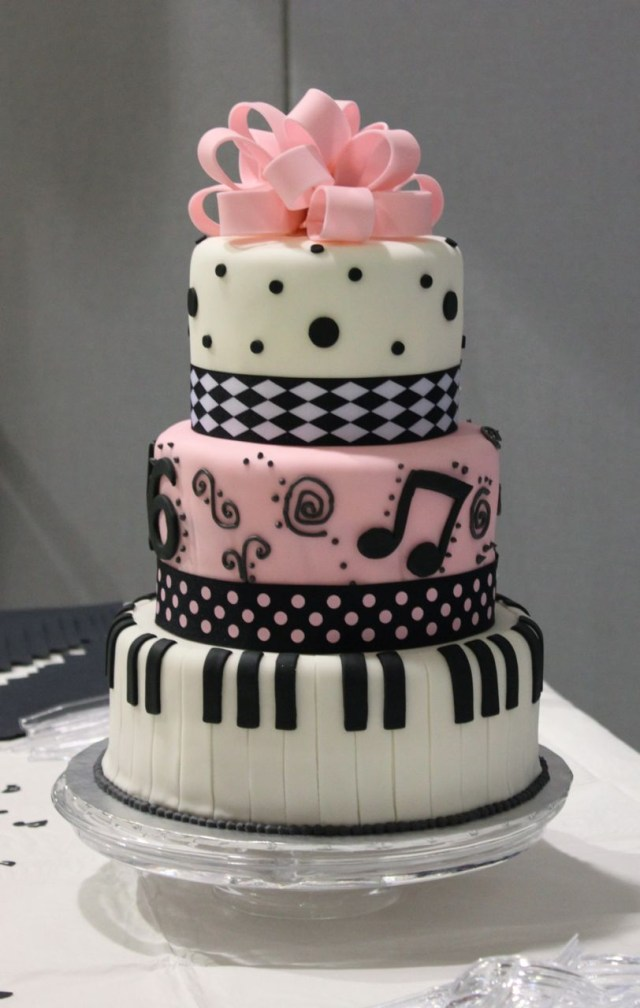 Piano Birthday Cake Brought Me To Tiers The Shaky Baker