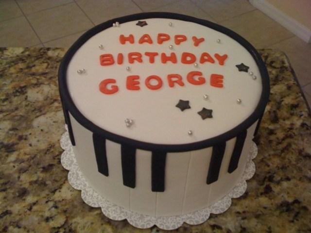 Piano Birthday Cake Piano Birthday Cake Cakecentral