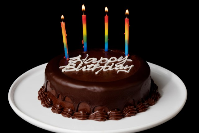 Picture Of Birthday Cake 2 Layer Chocolate Birthday Cake Send Birthday Cakes Online