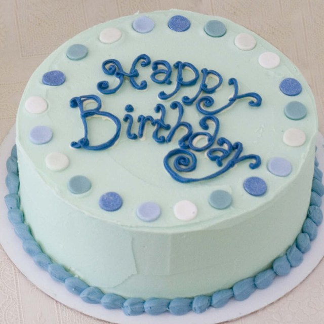Picture Of Birthday Cake Buttercream Birthday Cake
