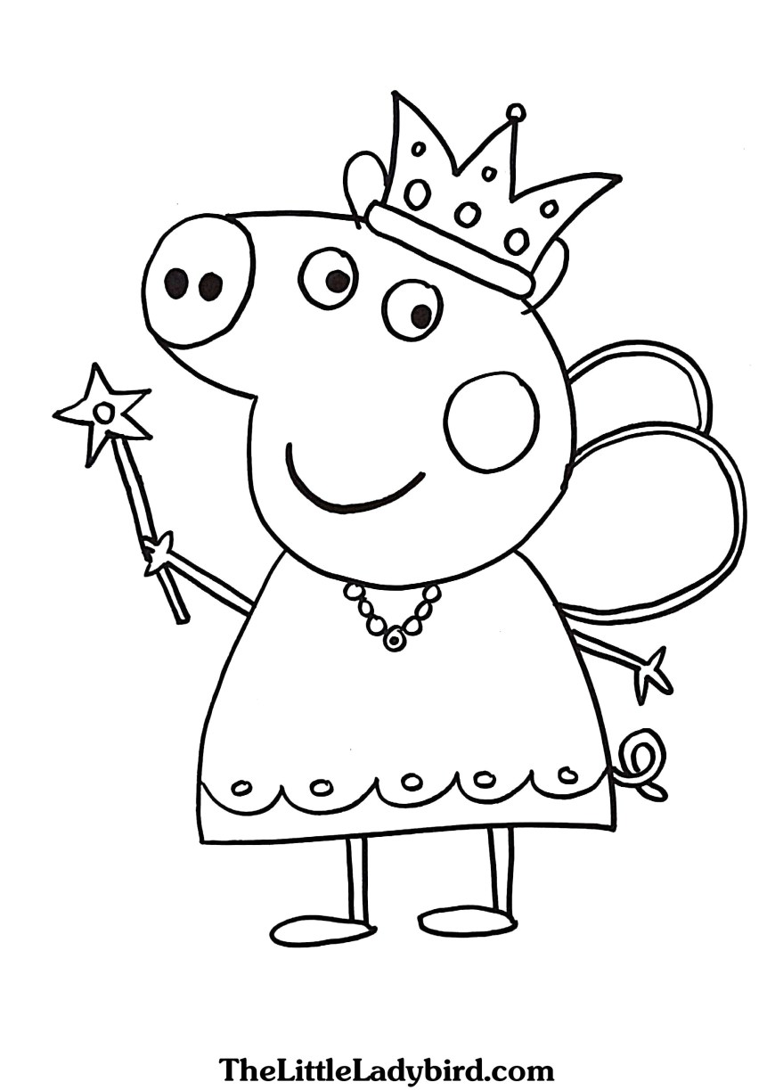 Pig Coloring Page Outstanding Peppa Pig Coloring Pages 19 Unnamed File 251 Printable