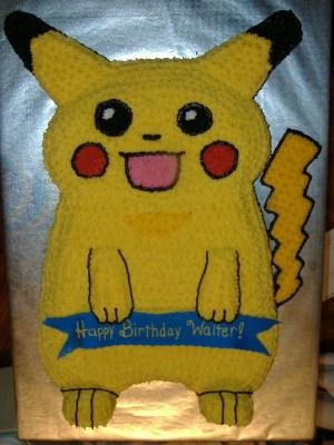 Pikachu Birthday Cake Pikachu Birthday Cake Cakecentral