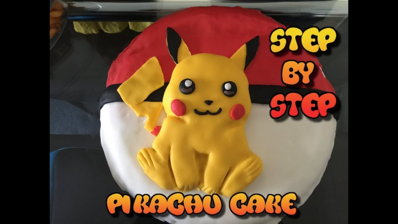 Pikachu Birthday Cake Pikachu Cake Pokemon Birthday Cake 2016 Easy To Make Morezuzi