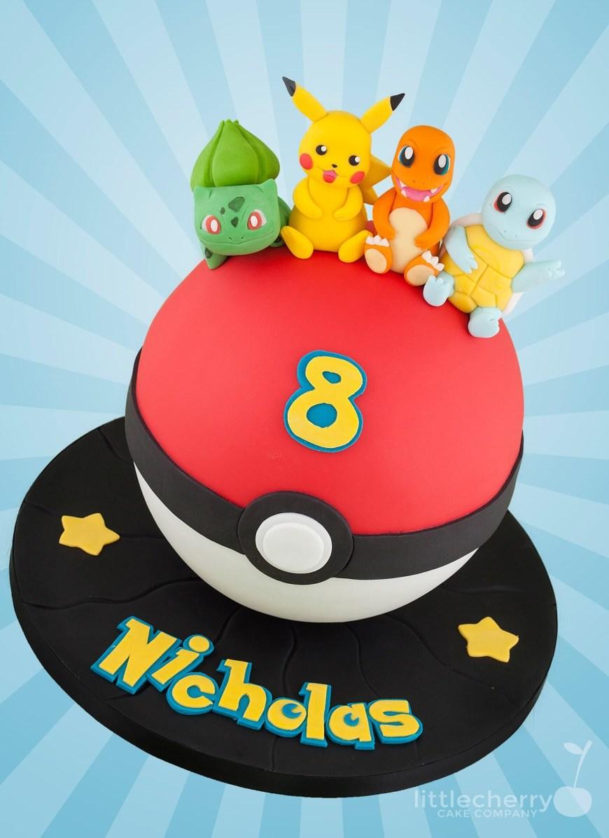 Pikachu Birthday Cake Pokemon Cake Cakes In 2019