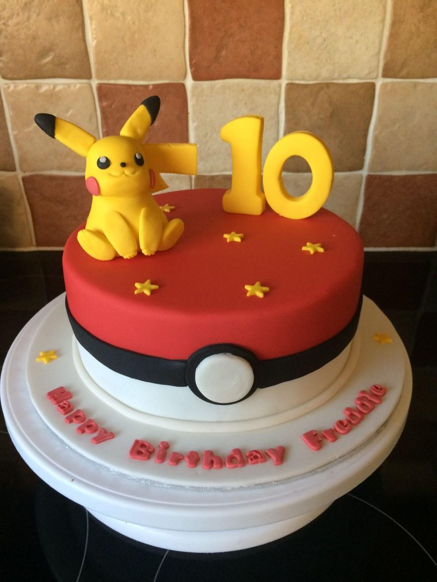 Pikachu Birthday Cake Pokmon Cake Damians 6th Birthday Pinterest Pokemon Birthday