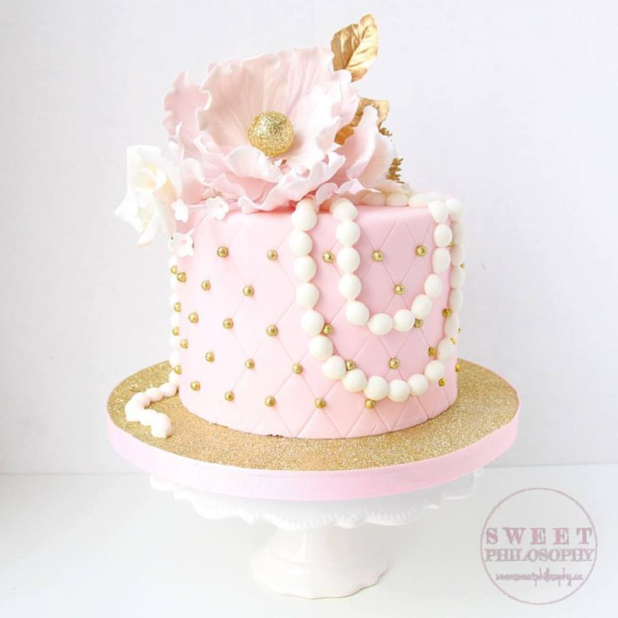 Pink And Gold Birthday Cake 6 Sheet Cakes Pink And Gold Photo Pink Ombre Birthday Cake Pink