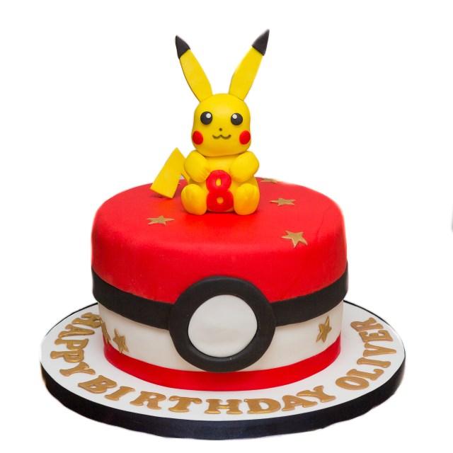 Pokemon Birthday Cake Easy Egg Less Chocolate Birthday Cake The Berkshire Bakesmith