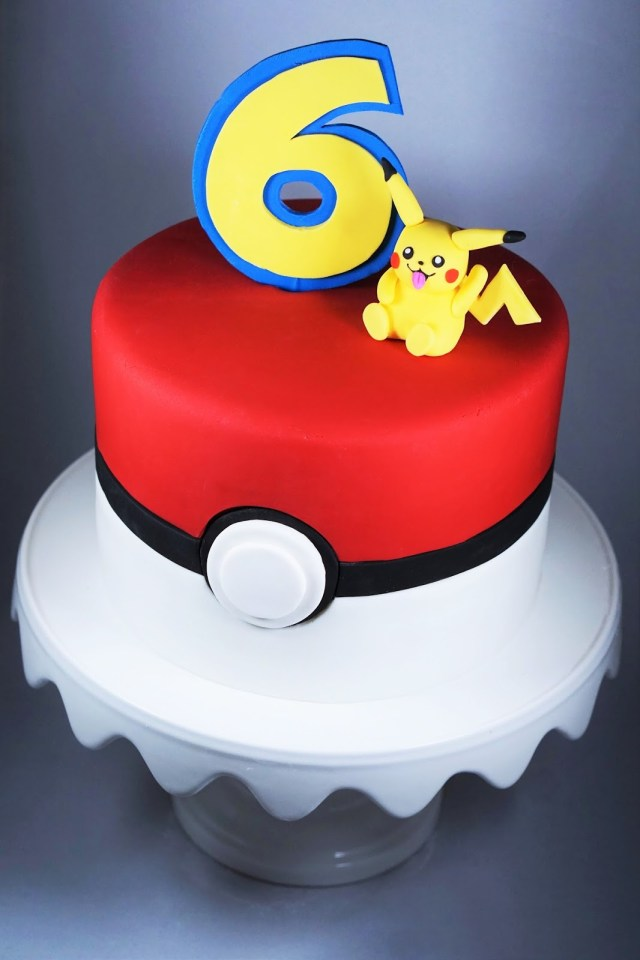 Pokemon Birthday Cake Eves Fika Pokmon Birthday Cake Pokmontrta