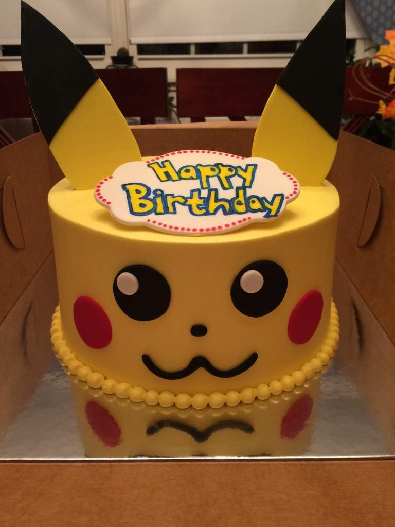 Pokemon Birthday Cake Pikachu Birthday Cake Pokmon Amino