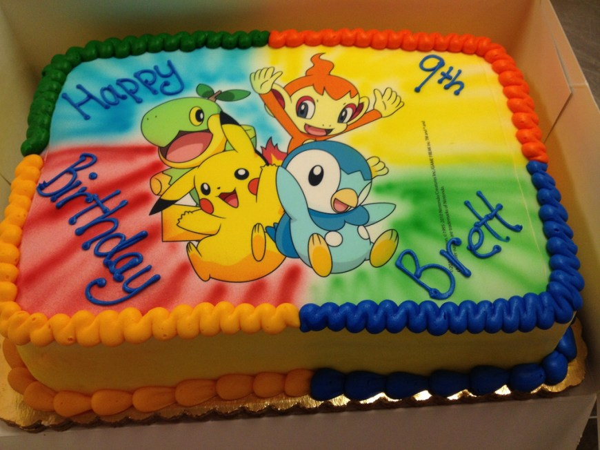 Pokemon Birthday Cake Pokemon Birthday Cake Misslandis Flickr