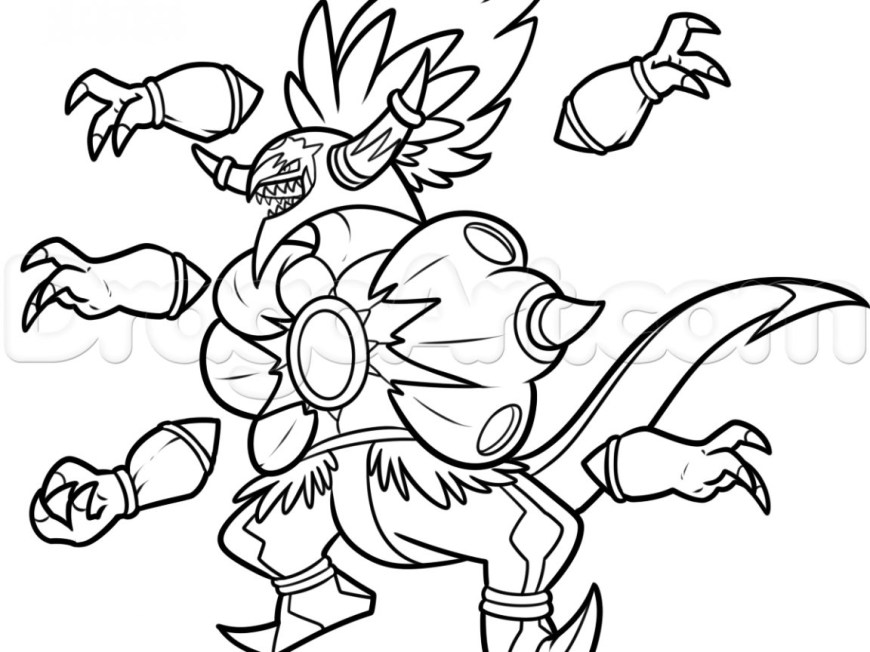 Pokemon Sun And Moon Coloring Pages Pokemon Coloring Pages Fearsome Fresh Free Online Collection