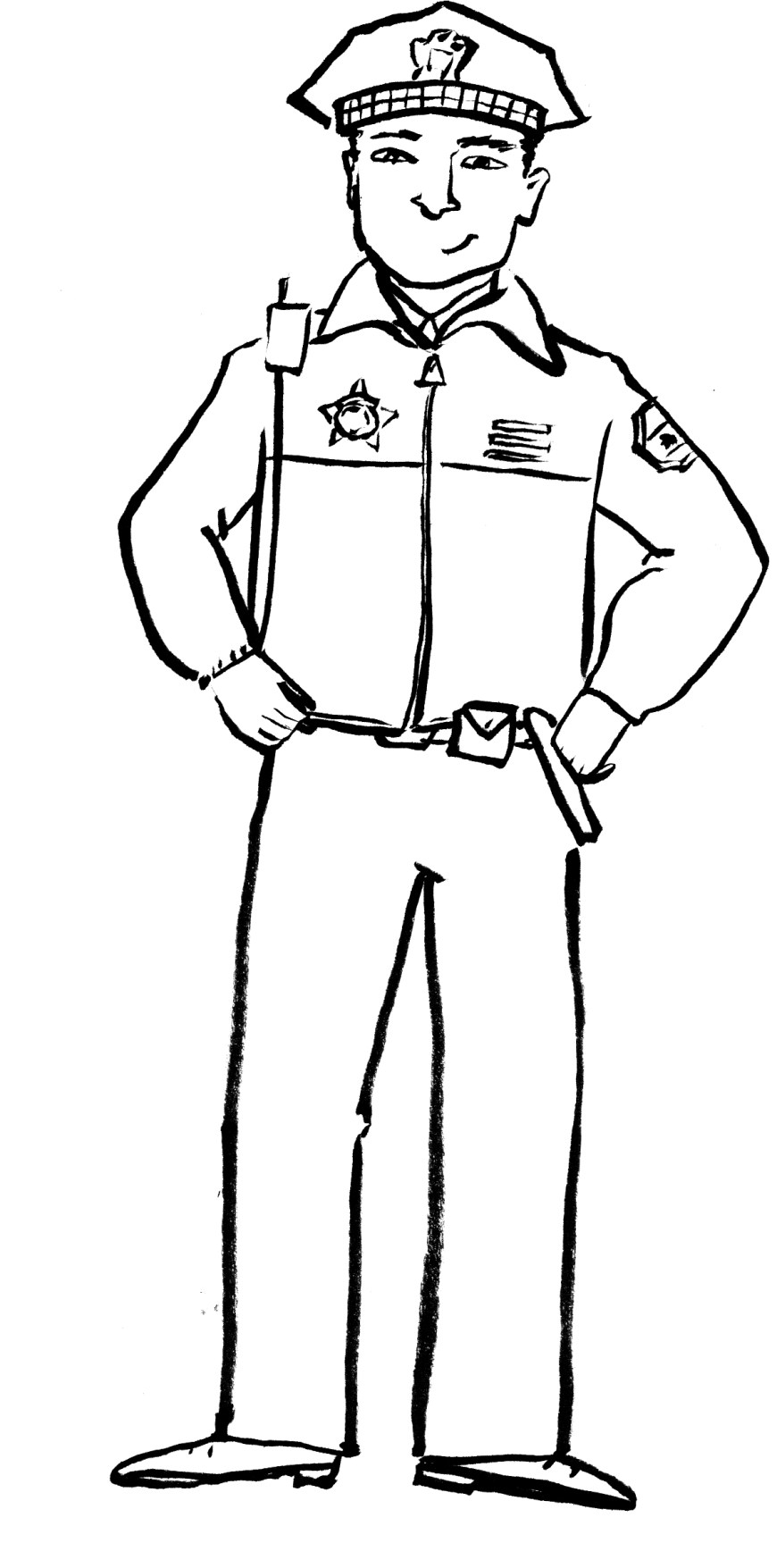 Police Officer Coloring Pages Police Officer Coloring Pages Coloring Pages