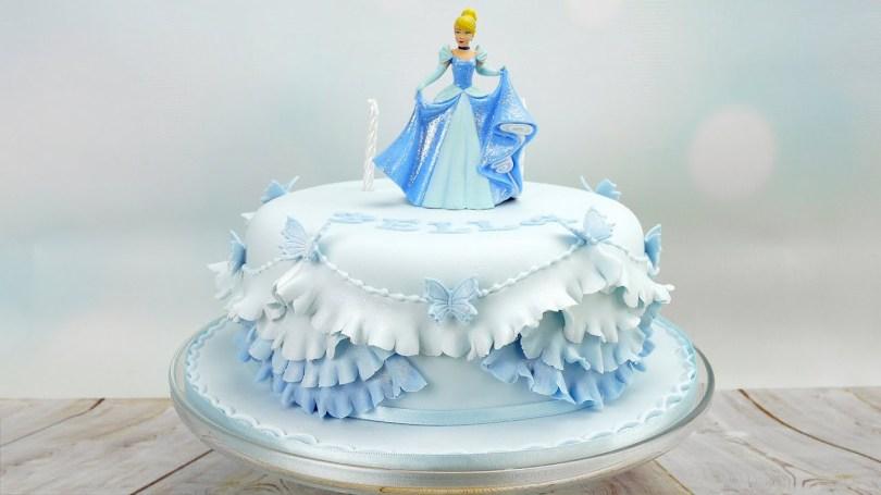Princess Birthday Cake Cinderella Princess Birthday Cake Youtube