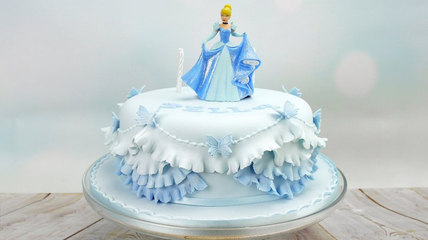 Princess Birthday Cake Cinderella Princess Birthday Cake Youtube