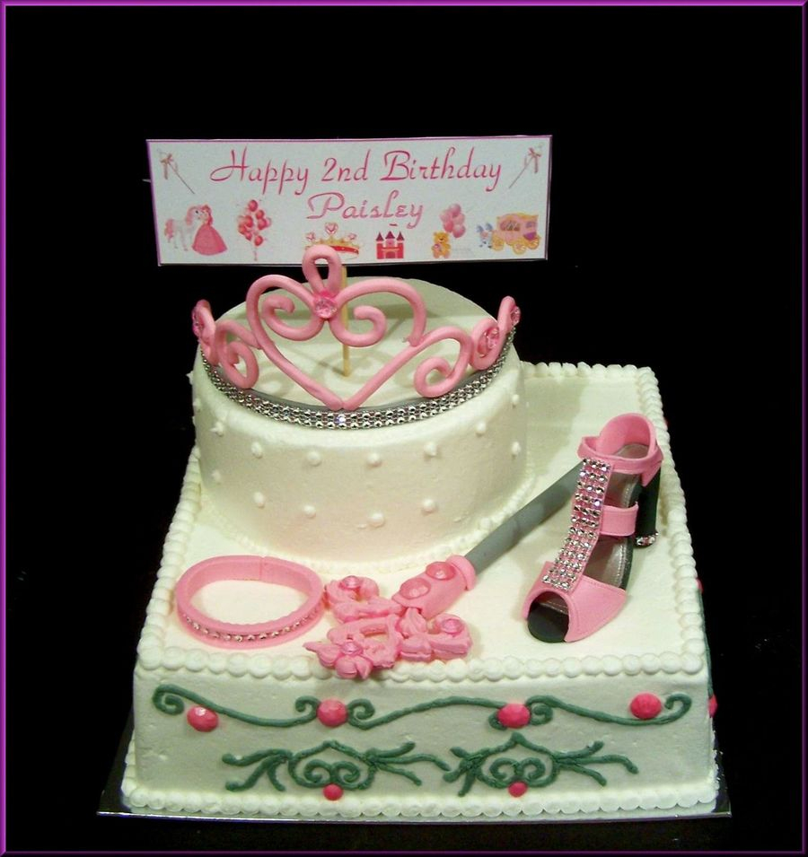 Princess Birthday Cake Little Cakecentral